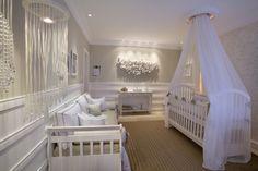 quarto bebe ccc1 Decoração para quarto de bebê menina