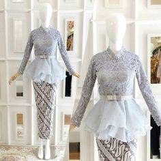18 Trendy Ideas For Diy Wedding Dress Patterns Inspiration Kebaya Muslim, Kebaya Modern Hijab, Kebaya Hijab, Muslim Dress, Kebaya Peplum, Kebaya Lace, Batik Kebaya, Kebaya Wedding, Diy Wedding Dress