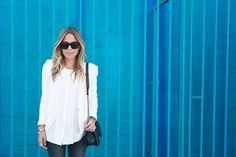 White On White On Blue   Damsel in Dior