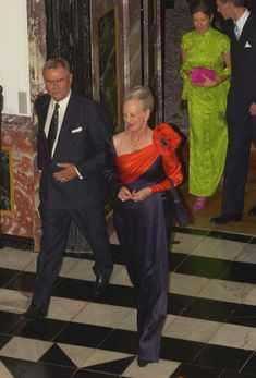 Prince Henrik and Queen Margrethe of Denmark, Princess Alexandra ad Prince Joachim at Fredensborg Palace unknown year Denmark Royal Family, Danish Royal Family, Princess Alexandra Of Denmark, Dancing In The Kitchen, Danish Royals, Royal Jewels, Royal Fashion, Royalty, Victoria