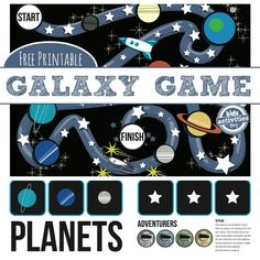 {Stars and Planets} Free Printable Game