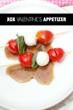 Valentine's Day Appetizer #PutYourHeartToPaper