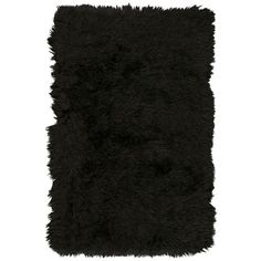 Kathy Ireland By Nourison  Studio Sunset Boulevard Onyx Area Rug 4' X... (€120) ❤ liked on Polyvore featuring home, rugs, onyx, black shag rug, nourison area rugs, nourison rugs, black shag area rug and shag rugs