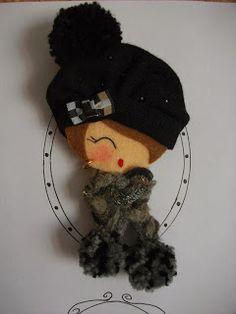 Ahora si que ha llegado el invierno, ya toca ponerse gorro y bufanda. ¡¡¡Que frio!!!!!