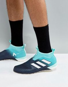 26dac92b156 ADIDAS ORIGINALS ADIDAS SOCCER TANGO 17+ PURE CONTROL ASTRO TURF SNEAKERS  IN BLUE BY1961 -
