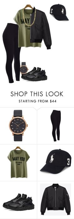 """""""Untitled #50"""" by dancerlife999 ❤ liked on Polyvore featuring Marc Jacobs, Polo Ralph Lauren, NIKE, Yves Saint Laurent and Fremada"""