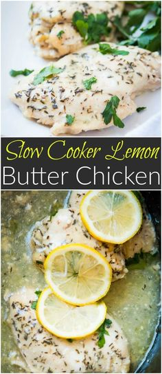 Need a simple summer dinner recipe? Us too and this simple slow cooker lemon butter chicken totally hit the spot the other night. Whole 30, paleo, gluten-free, via @ohsweetbasil