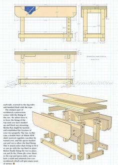 #2573 Workbench Plans - Workshop Solutions