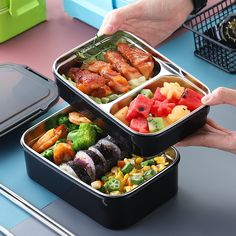 Bento Box Lunch For Adults, Japanese Bento Lunch Box, Bento Kids, Bento Kawaii, Work Lunch Box, Best Bento Box, Bento Recipes, Food And Drink, Student Food