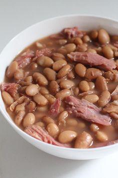 Crockpot Ham and Pinto Bean Soup |  New Leaf Wellness