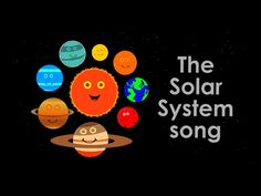 The Solar System/Planets song. A song to help children learn about all the planets in our solar system with a fun fact for each Solar System Song, Solar System Planets, Preschool Learning, Science Classroom, Alphabet Activities, Toddler Activities, Planet Song, 8 Planets