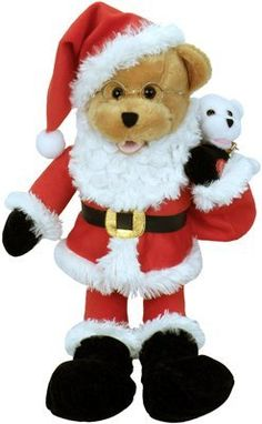 Chantilly Lane Saint Nick Bear Duet  Up on The Rooftop *** Click image to review more details.