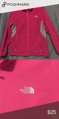 The North Face Girls Pink Jacket Girls pink and gray The North Face jacket. The North Face Jackets & Coats