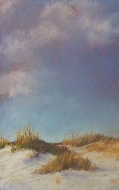 South Carolina Dunes, pastel painting by Beth Williams. Bethwilliamspastels,com SOLD