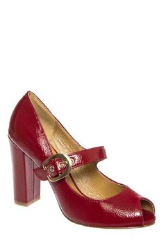 Chelsea Crew Helena Chunky Heel Mary Jane Pump *** Find similar products by clicking the image