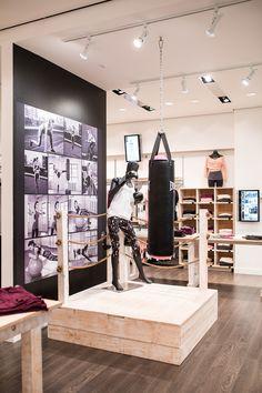 Pop up shop design Karmas retail interior design by Cutler in