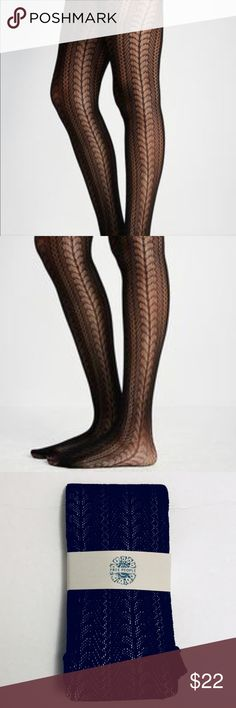 Free People Heart Calls Tights Luxe fashion tights featuring vertical cutout heart detailing and elastic waistband for an easy fit.  49% Nylon 43% Polyester 8% Spandex Hand Wash Cold  🚫Trades✅Bundle and save Free People Accessories Hosiery & Socks