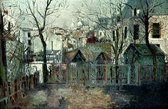 Maurice Utrillo, Renoir's Garden, n.d.