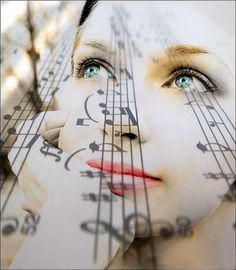 When I think of her, it's music..