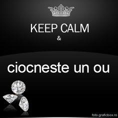 Keep Calm si ciocneste oua Romania, Keep Calm, Diamond Earrings, Meme, Stay Calm, Relax, Memes, Diamond Drop Earrings