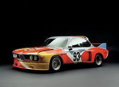 Alexander Calder's BMW from the BMW Art Car Collection