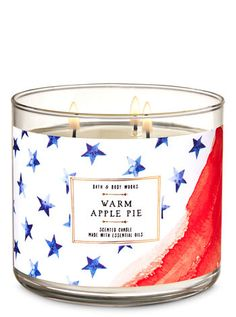Shop Warm Apple Pie Candle at Bath And Body Works! Fill your home with the most irresistible, beautiful fragrance today. Bath Candles, 3 Wick Candles, Scented Candles, Candle Jars, Candle Branding, Candle Warmer, Bath And Bodyworks, Body Works, Apple Pie