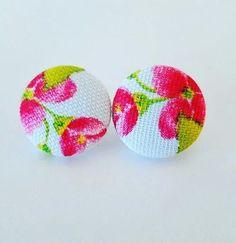 Pretty in Pink Stud Earrings | Jewelry & Watches, Fashion Jewelry, Earrings | eBay!