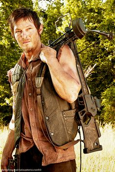 Choose your Zombie survival team- i got Daryl Dixon, The Walking Dead