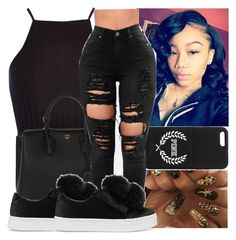 """""""Untitled #1113"""" by kodakdej ❤ liked on Polyvore featuring River Island, MCM and Sam Edelman"""