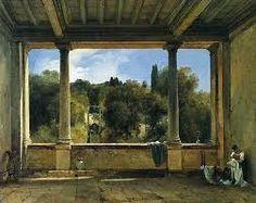 Didier Boguet - View from the upper loggia of the villa aldobrandini at Frascati