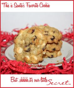 Santa's Favorite Cookie - Dishin' With Rebelle