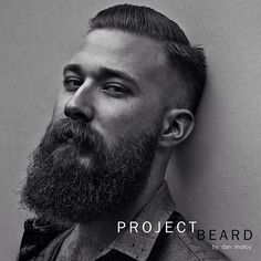 kiizzz:  A sneak peek picture from the wonderful and talented Dan Molloy's current photography baby, project beard! Check it out and like it...
