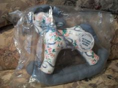 VINTAGE 1990 Brand New Decorative Rocking by ALEXLITTLETHINGS, $18.00