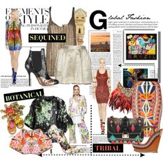 """""""Global Fashion Fusion"""" by maddycruise on Polyvore"""