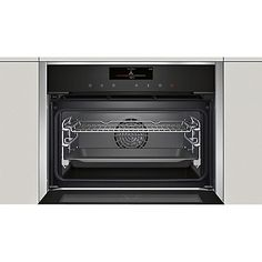 Neff C18ft58n0b Compact Steam Oven Stainless Steel Online At Johnlewis