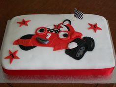 One of grandson's Birthday cakes.
