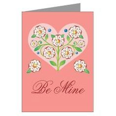 Valentine Heart Greeting Cards (Pk of 20)