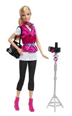 Muñeca Barbie vestida de fotógrafa - Google Search