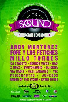 The Sound Of Hope Music Festival @ Estadio Sixto Escobar, San Juan #sondeaquipr #soundofhopefestival #estadiosixtoescobar #sanjuan