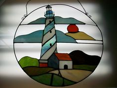 Stained Glass Lighthouse by southern_studios