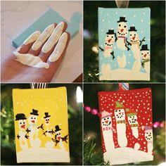 handabdruck-bilder-kinder-schneemann-winter-basteln