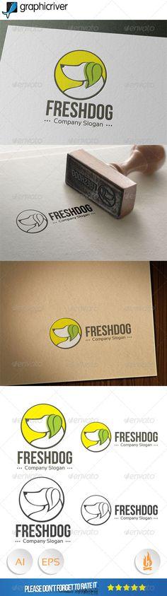 Fresh Dog Logo http://graphicriver.net/item/fresh-dog-logo/8079907?ref=damiamio
