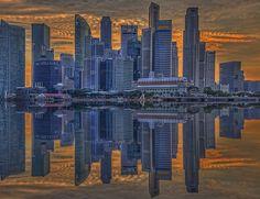 skyline reflection,,,
