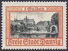 """Wikipedia contributors, """"Postage stamps and postal history of Free City of Danzig,"""" Wikipedia, The Free Encyclopedia, [http://en.wikipedia.org/w/index.php?title=Postage_stamps_and_postal_history_of_Free_City_of_Danzig=541219629] (accessed May 1, 2013 