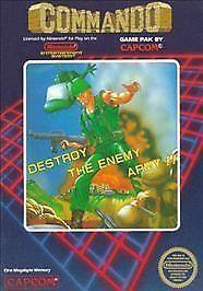 Commando  (Nintendo NES, 1986)