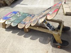 Skate chair