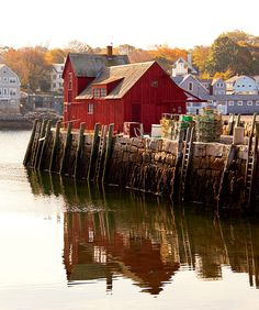 Behind its picturesque facade, Motif No. this little red building in Rockport, Massachusetts, holds meaning and memories. Rockport Massachusetts, Places To Travel, Places To Go, Famous Fish, New England Travel, Summer Travel, One Light, East Coast, First World