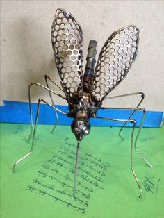 Mosquito by Kelly Stevens, metal Art