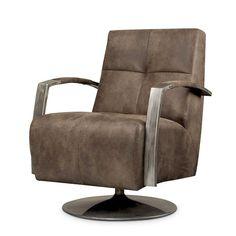 Solvi draaifauteuil industrieel design Swivel Armchair, Recliner, Lounge, Furniture, Hedwig, Vintage, Design, Home Decor, Google