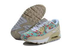 401a66095f6 Buy 2014 Nike Air Max 90 Womens Shoes New Beige Flower air max pneumatic